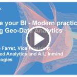 Locate your BI – Modern practices for Big Geo-Data Analytics